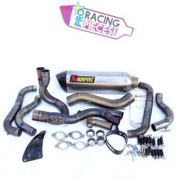 Ligne d'échappement akrapovic racing Aprilia RSV4 & Tuono V4 2009-2014