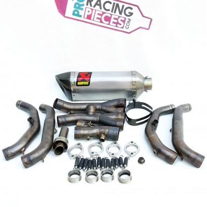Ligne complète d'échappement akrapovic racing Yamaha yzf R6 2006-2016