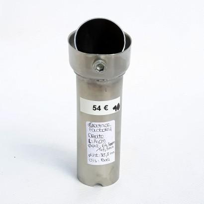 Db killer | Chicane Leovince sbk factory 65mm/47mm droite ouverte